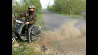 Пробуксовка Honda Lead 90cc г. Сребное(г.Сребное. P. S. Съемка не моя!!!, 2012-06-06T13:04:52.000Z)