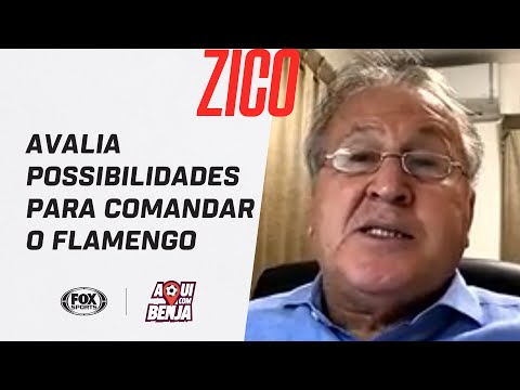 """""""NÃO SEI SE UM BRASILEIRO TERIA PACIÊNCIA"""": Zico avalia possibilidades para comandar o Flamengo"""