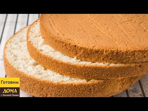 Простой рецепт коржей для торта в домашних условиях
