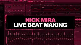 MAKING BEATS LIVE [Nick Mira] 1/22/18 | FL Studio Beat Making Cookup 2018