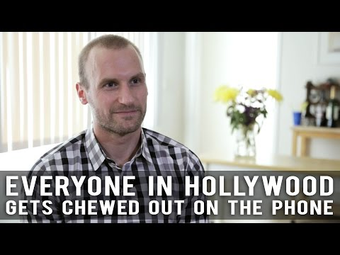 Everyone In Hollywood Gets Chewed Out On The Phone by Anthony elli