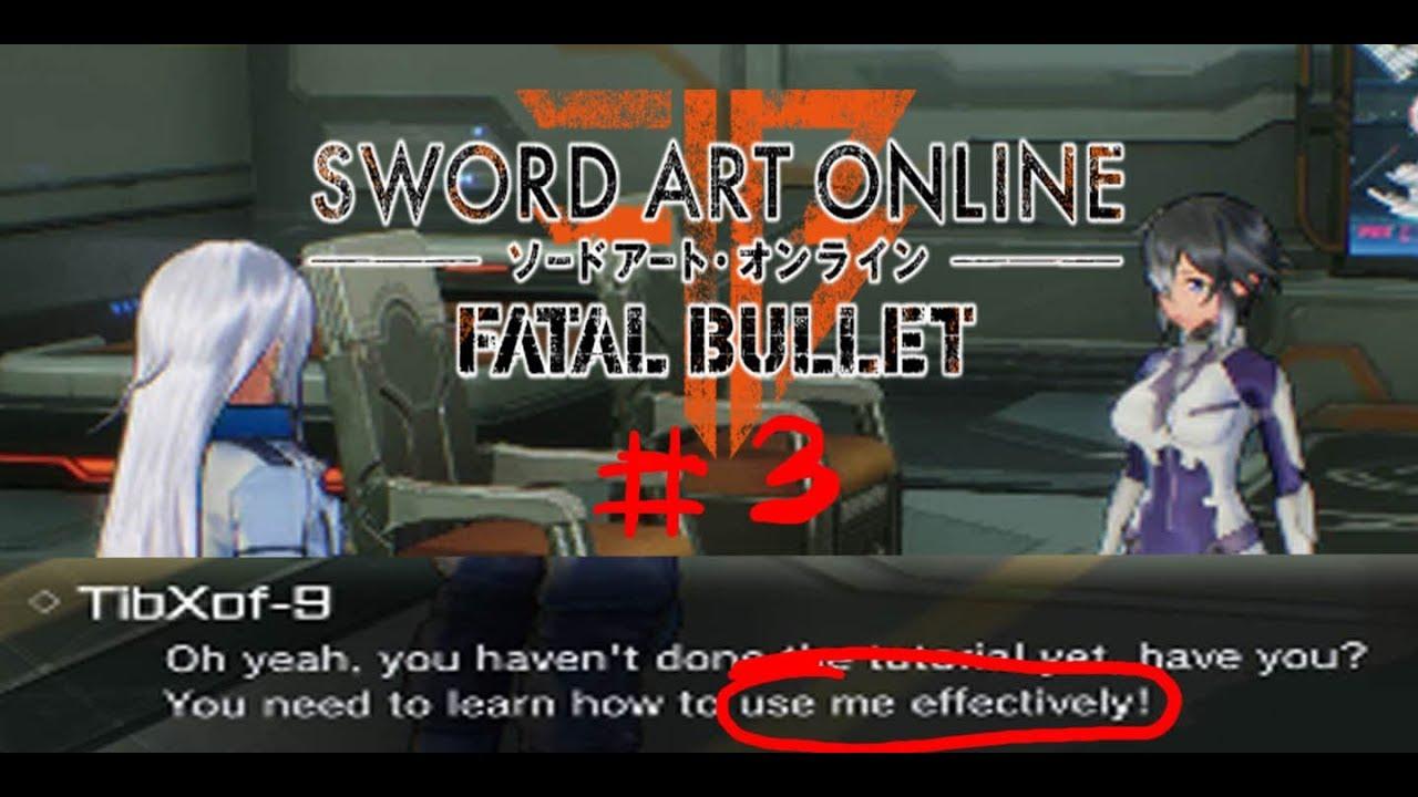 So Many Dirty Jokes I Can Make Sao Fatal Bullet 3 Youtube