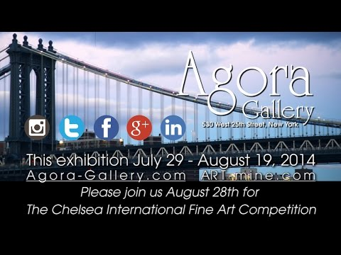 Agora Gallery, Chelsea, NYC, Art Gallery Video. Opening Reception July 31st 2014