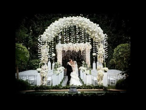 Best Garden Wedding Arch Decorations Pictures - YouTube