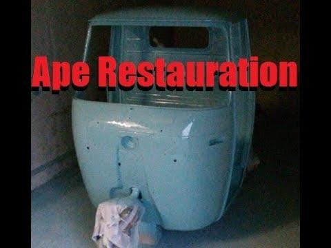 Piaggio Ape 400 Restauration Teil 8 - Die Apeschrauber