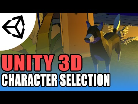 Character Selection (And changing scene) - Unity 3D[Tutorial][C#]