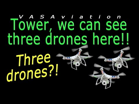 [REAL ATC] At least *3 THREE DRONES* annoying at Amsterdam!!
