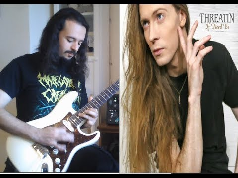 THREATIN - Guitar Solos Cover [A Tribute to Jered Threatin]
