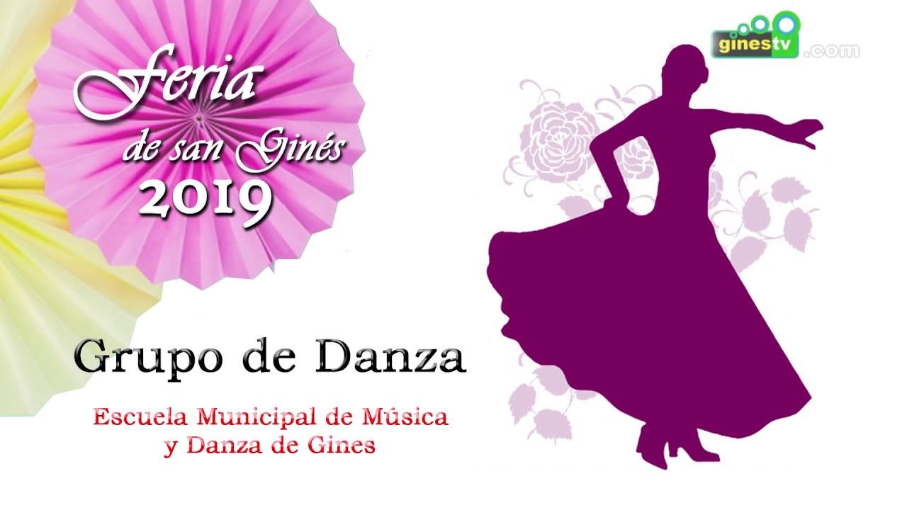 ACTUACIÓN DE LOS GRUPOS DE DANZA DE LA ESCUELA MUNICIPAL DE MÚSICA Y DANZA DE GINES