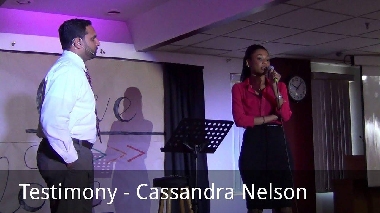 testimony - cassandra nelson - youtube