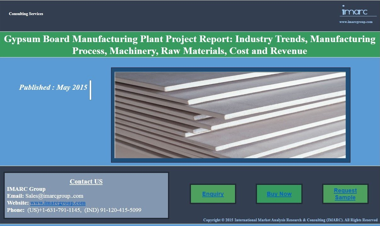 Gypsum Board Market | Prices, Manufacturing Plant Project Report