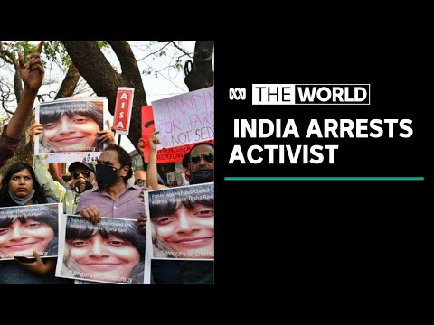 Disha Ravi: Outrage in India over arrest of climate activist | The World