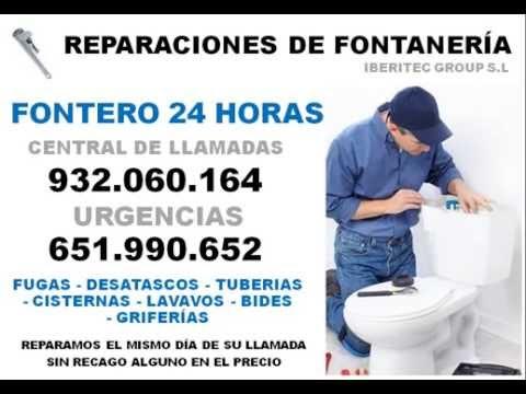 Fontanero Barato en Barcelona 932521322