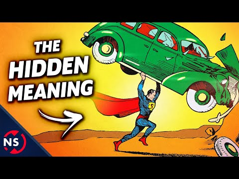 Why Does Superman Smash A Car On His First Comic?