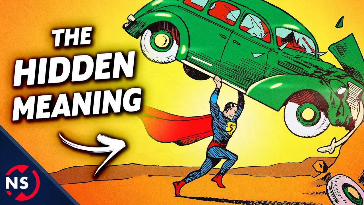 Why Does Superman Smash a Car on His First Comic? || NerdSync ...