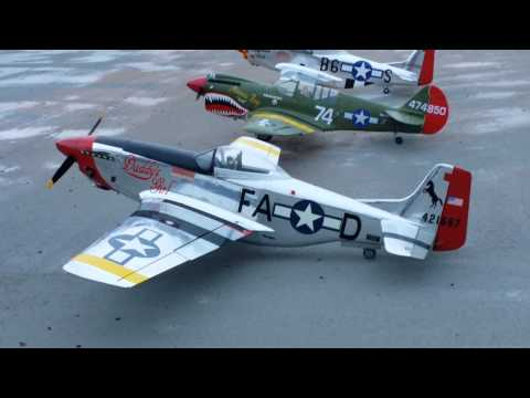 P 51 Mustang with DA50