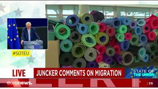 State of the Union 2017: President Juncker on migration