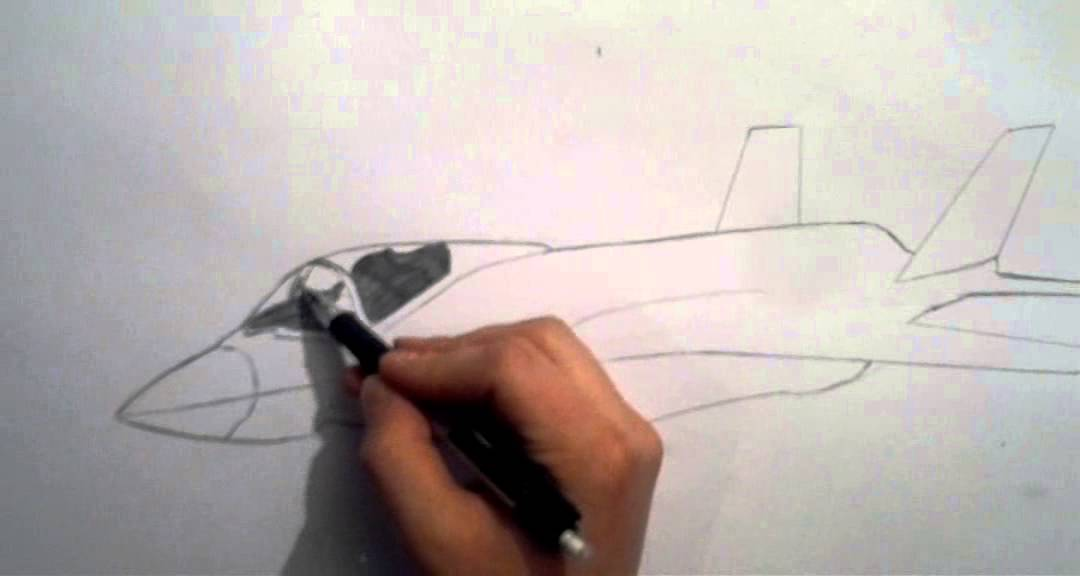How to draw F35 jet fighter  YouTube