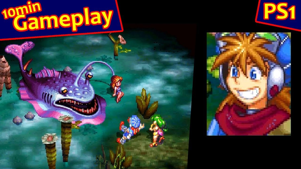 Image result for Grandia PS1