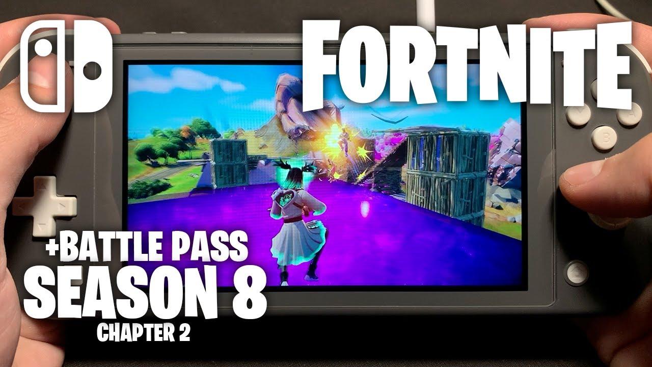 CHAPTER 2 SEASON 8 - Fortnite on Nintendo Switch Lite #421