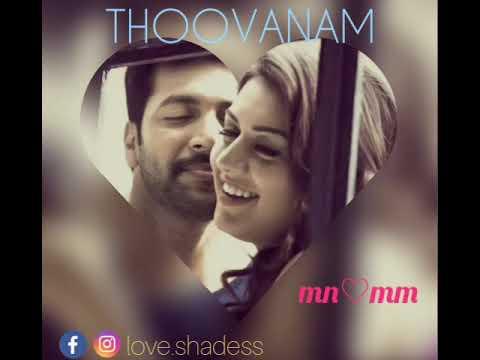 Romeo Juliet Thoovanam female version song WhatsApp status video love.shadess
