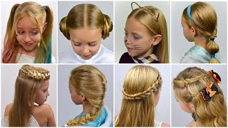 8 popular Halloween hairstyles in one collection! Cute Hairstyle Ideas For Girls | LittleGirlHair