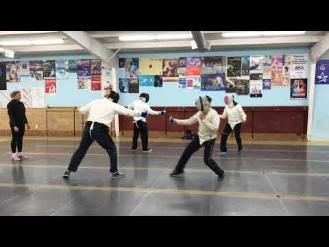 Fencing - Houston, Texas - Alliance Fencing Academy (Ready, Fence! - Part 1)