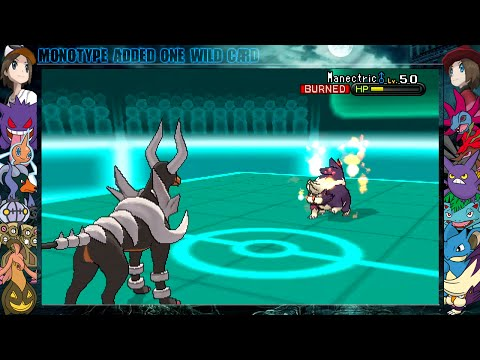 Pokemon X and Y Wi-Fi Battle vs OminousAcid - Mega Houndoom