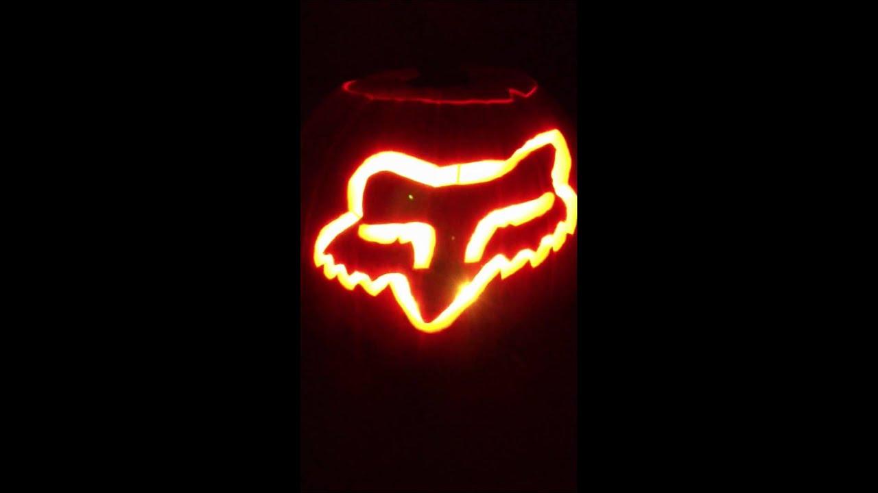 Fox Racing Led Pumpkin Youtube