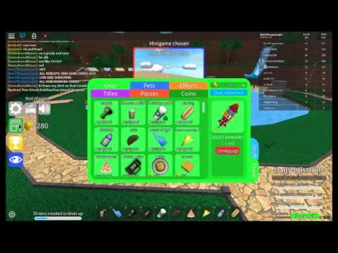 Epic Minigames Codes - 2019 - YouTube