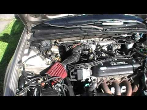 Quick Engine Look 1990 Honda Accord Ex 2 2 Youtube