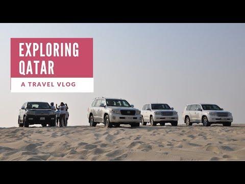 Qatar Travel Vlog ll Desert Safari ll Exploring Qatar