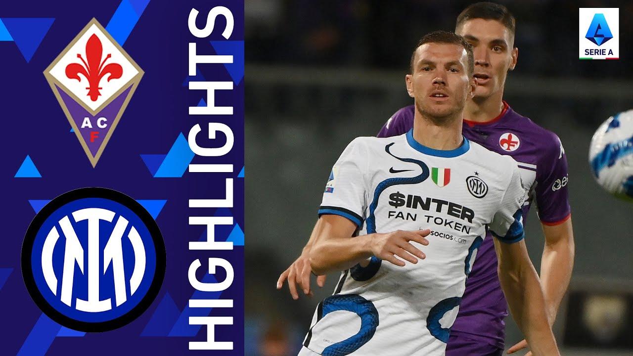 Download Fiorentina 1-3 Inter   Inter beat La Viola to go top of the log   Serie A 2021/22