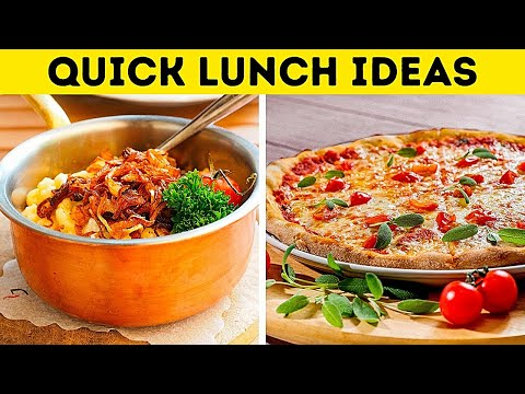easy ideas foods