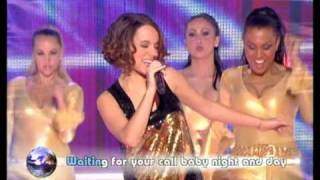 Alizee - Hung Up - live