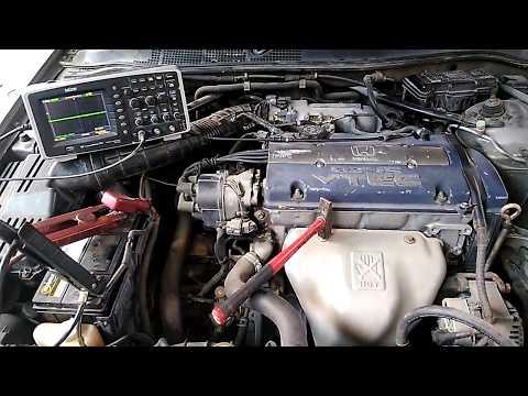 датчик детонации .проверка на моторе..