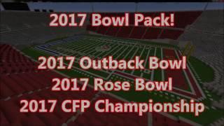 2017 Bowl Pack - CFP Championship, Rose Bowl, Outback Bowl + Downloads!