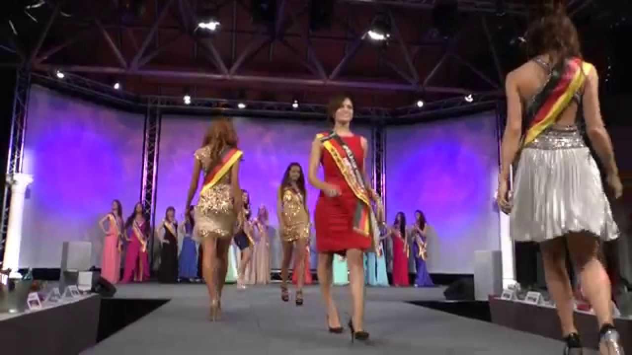 Miss Deutschland 2014 | Walk in (Abendkleidung) | Spielbank Hohensyburg