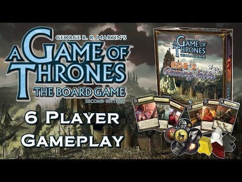 Game of Thrones: The Board Game 6 Player Game