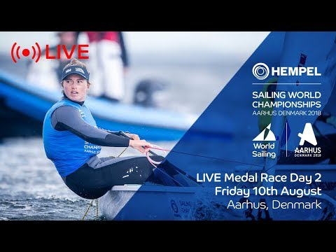 LIVE Sailing  Hempel Sailing World Championships  Medal Race Day 2