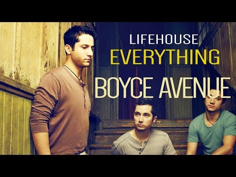 Lifehouse  Everything (Boyce Avenue acoustic cover Lyrics)