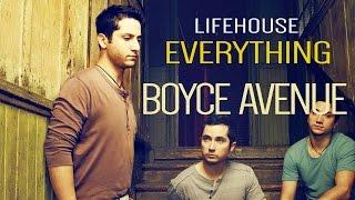 Lifehouse  Everything(Boyce Avenue acoustic cover Lyrics)