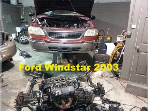 Ford Windstar 2003 Especificaciones Ficha Tecnica