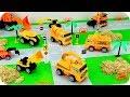 Camiones de Construcción para Niños - Tractor y Excavadora - Vehículos de Construcción