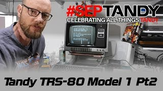 Tandy TRS-80 Model 1 Pt 2 - Keyboard and case fixes #SepTandy
