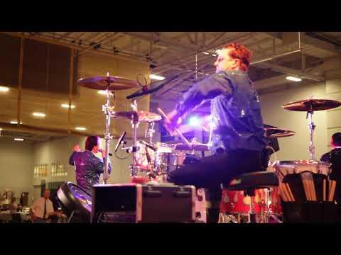 Steve Moore, The Mad Drummer, Behind The Drum Riser
