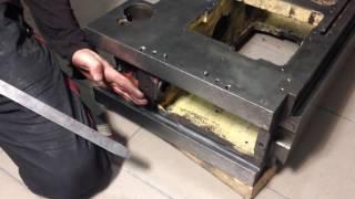 видео Капитальный ремонт фрезерного станка