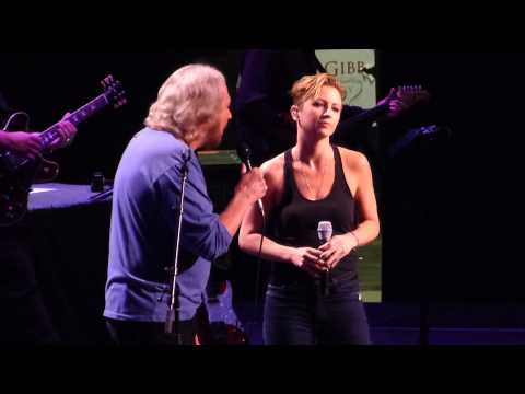 """How Can I Mend a Broken Heart?"" Barry Gibb & Samantha Gibb@Wells Fargo Philadelphia 51914"