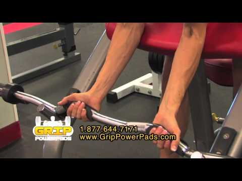 Grip Power Pads TV Commercial - Alternative to Gym Gloves, Weightlifting Gloves