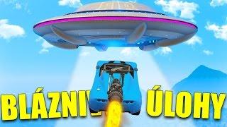 GTA 5 - BLÁZNIVÉ ÚLOHY - PRISTÁVAM NA LIETAJÚCE UFO